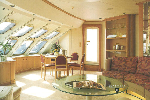 Seabourn Cruise Line: Seabourn Pride, Seabourn Legend, Seabourn Spirit