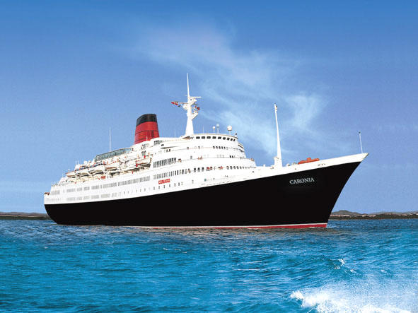 Luxury Cruises In Europe, Cunard Cruise Line, Caronia