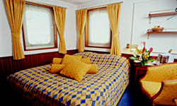 Luxury Cruises View of  Category 1 Cabin