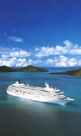 All Suite Cruises - Balcony, Veranda - Crystal Cruises - in the Caribbean