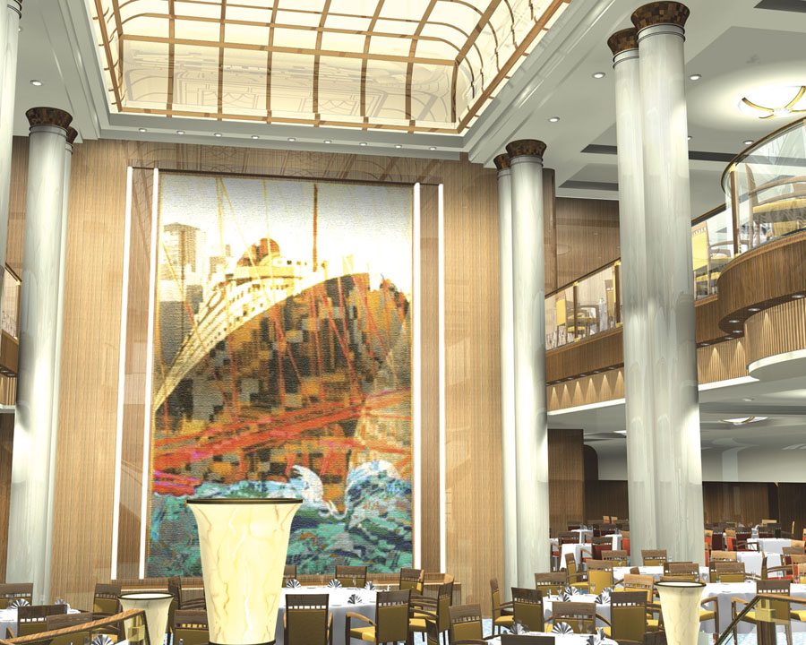 Make A Grande Descente Down The Sweeping Stairway Of Splendid 3 Story Britannia Restaurant Reminiscent Opulent Dining Salons Past