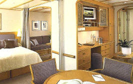 Luxury Cruises Seadream Yacht Club Cruises: Commodore Club Stateroom