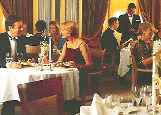 Seabourn Cruises: Dinner on a Formal Night
