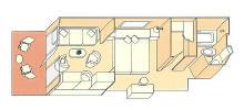 Veranda Suite Diagram