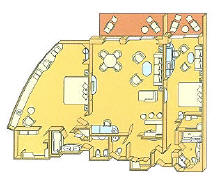 Royal Suite Diagram