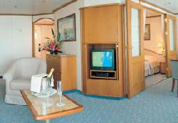 Luxury Cruises In Europe, Silver Suite