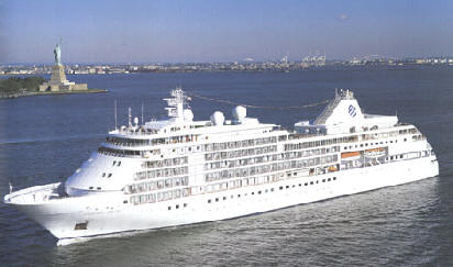Cruise South America, Silversea Cruises, Silver Whisper