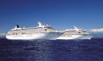 Luxury Cruises In Europe, Luxury Cruises: Crystal Cruises July  2004
