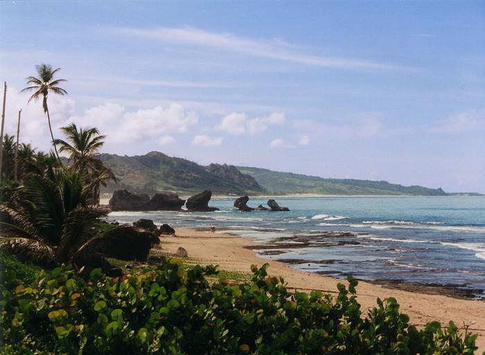 Cruises Around the World The east coast of Barbados