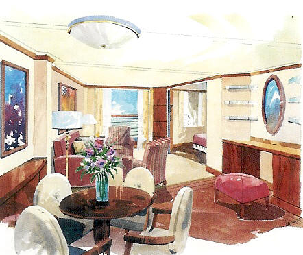 Crystal Serenity Deck Plans