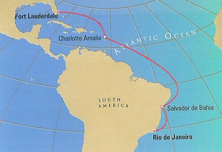South America Cruise Cunard Cruises, Queen Mary 2